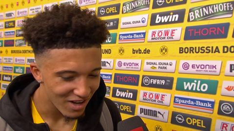Watch: Sancho tips Dortmund for success
