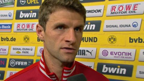 "Watch: Müller bemoans ""tough result"""