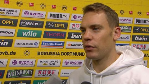 Watch: Neuer focuses on positives
