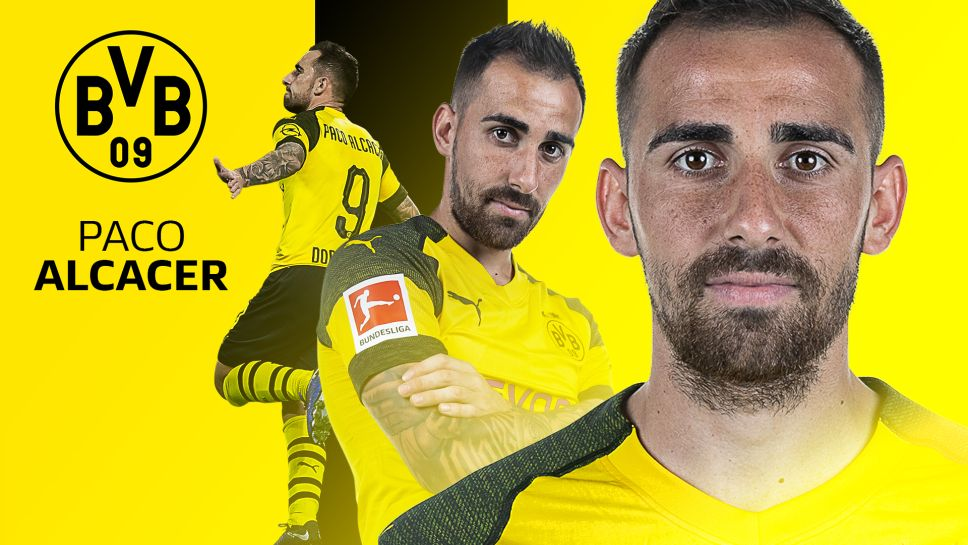 Bundesliga Borussia Dortmund Striker Paco Alcacer Sets New
