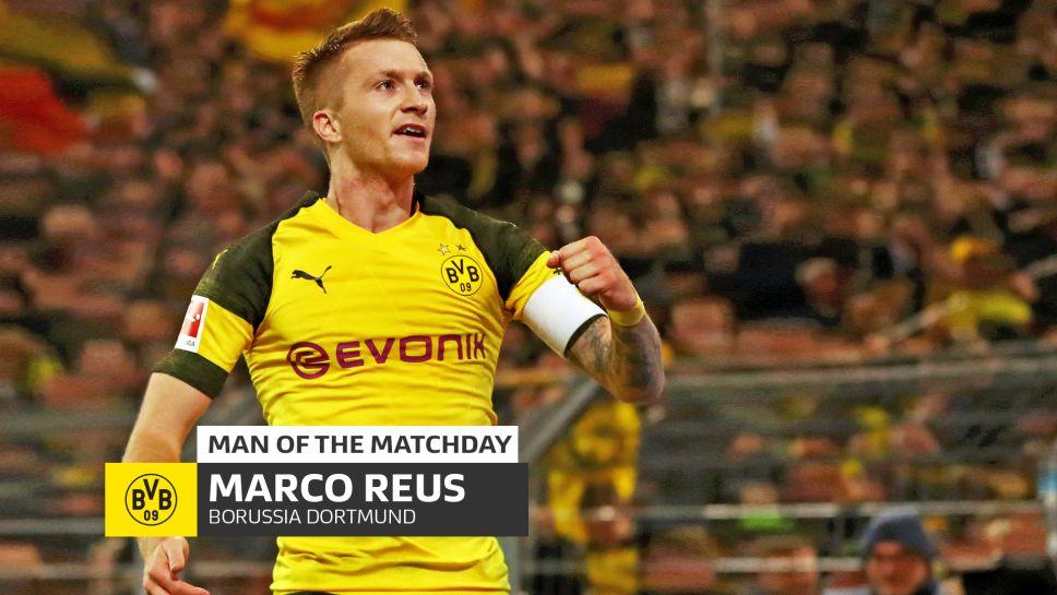 Bundesliga Marco Reus Borussia Dortmund S Klassiker Hero