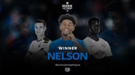 Watch: Reiss Nelson named Rookie of the Month