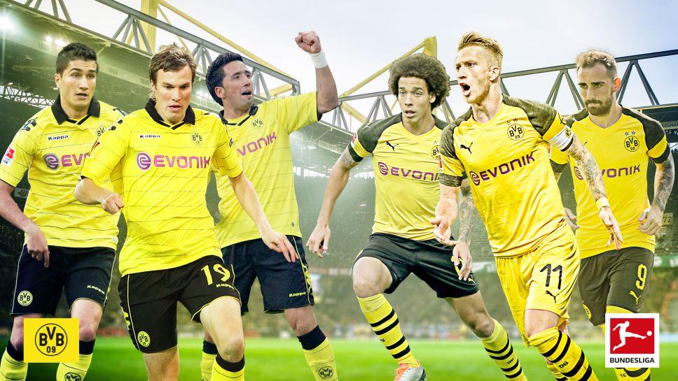 Bundesliga Borussia Dortmund Ist Torhungriger Und