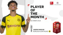 Sancho named October Player of the Month