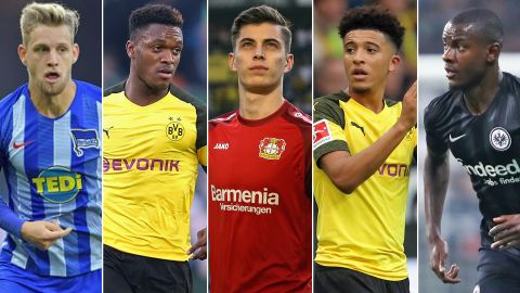 Teenage kicks: Sancho, Havertz and Co.