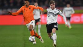 Germany vs. the Netherlands in EURO qualifiers