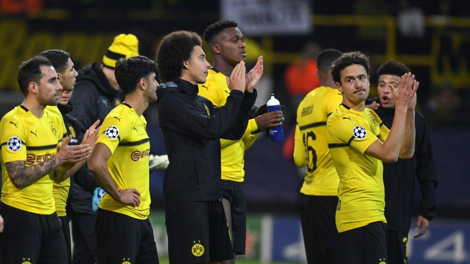 Bundesliga Borussia Dortmund Reach Uefa Champions League Last 16 After Draw With Club Brugge