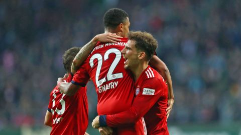 Gnabry guides Bayern to win over Bremen