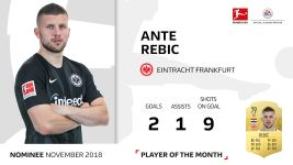 November Player of the Month candidate: Rebic