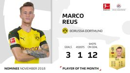 November Player of the Month candidate: Reus