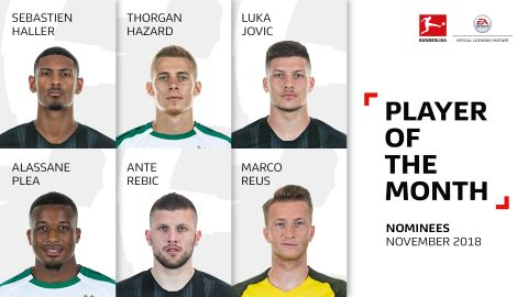 Vote for your November Player of the Month!