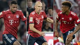 "Robben: ""Gnabry and Coman are very good players"""