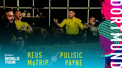 Watch: FIFA19: Reus/MoTrip vs. Pulisic/Payne