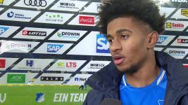 Watch: Reiss Nelson happy at Hoffenheim