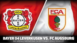 Leverkusen hoping to return to winning ways against Augsburg