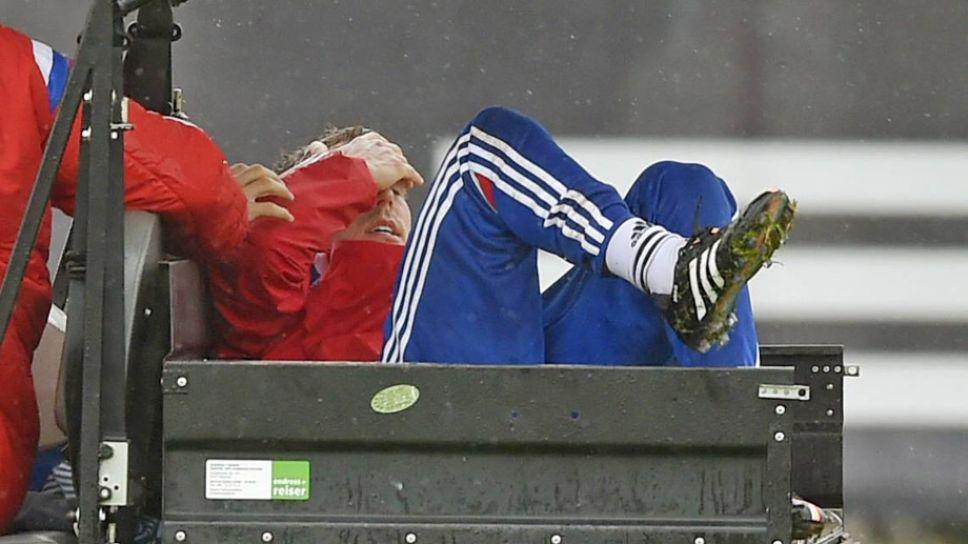 Bundesliga Die Reaktionen Auf Die Verletzung Von Philipp Lahm Fc Bayern Munchen