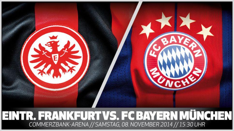 Bayern Eintracht Frankfurt