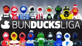 BunDucksLiga: Alle Entchen als Poster zum Download