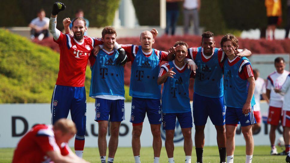 Trainingslager Bundesliga