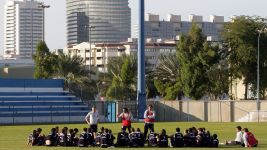 Das Trainingslager des Hamburger SV in Dubai