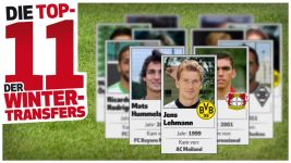 Die Top-11 der Wintertransfers