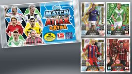 Match Attax Extra mit den Top-Transfers des Winters