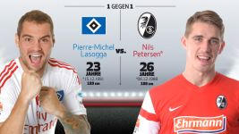 Infografik: Pierre-Michel Lasogga vs. Nils Petersen
