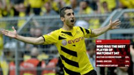 Mkhitaryan voted Matchday 34 Player of the Week