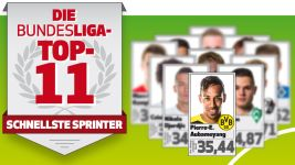 Die Bundesliga-Top-11: Sprinter
