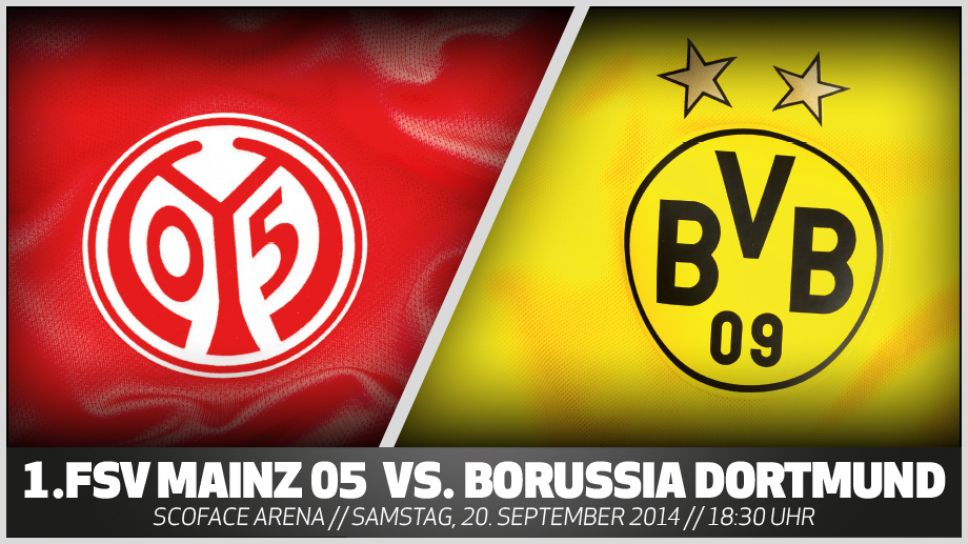 Bundesliga 1 Fsv Mainz 05 Borussia Dortmund Vorschau 4 Spieltag