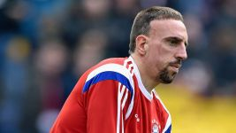 Ribery suffers ankle setback