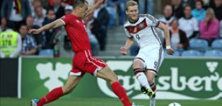 Schürrle stars as Germany hammer Gibraltar