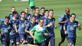 Wolfsburg back in action