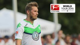 Bundesliga World Tour 2015: Wolfsburg draw with Gdansk
