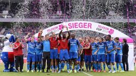Hamburger SV win 2015 Telekom Cup