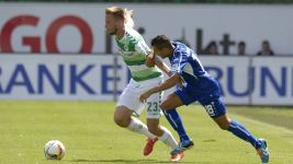 Late Stiepermann strike downs Karlsruhe