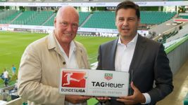 TAG Heuer new partner of the Bundesliga