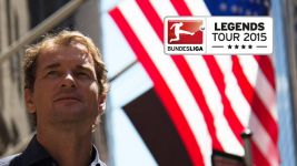 Bundesliga Legends Tour 2015: Lehmann in New York - day 1
