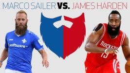 Fear the beard: Marco Sailer vs James Harden