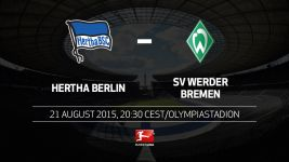 Hertha play host to bogey team Werder Bremen