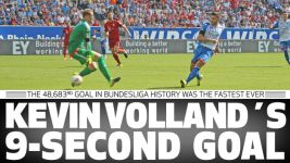 Kevin Volland's 9-second goal