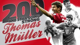 Thomas Müller: 200 and counting | Infographic