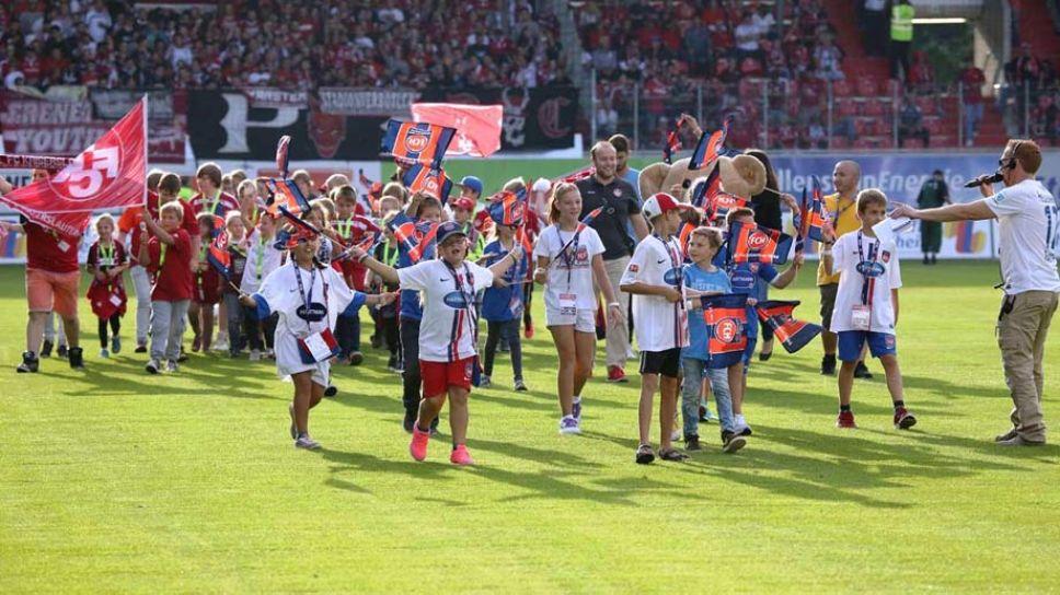 Spielbeginn 2. Bundesliga