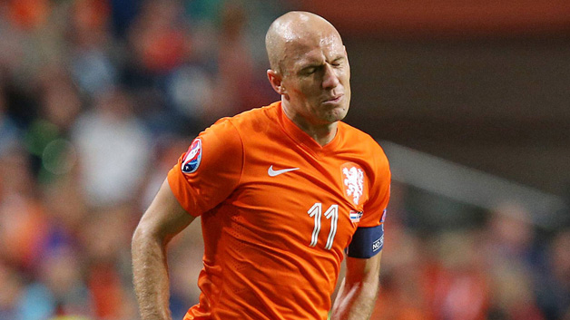 Robben ruled out for four weeks