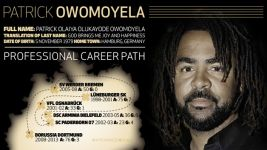 Infographic: introducing Patrick Owomoyela