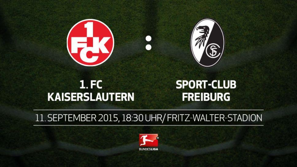 Kaiserslautern Gegen Freiburg