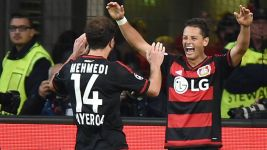 Hernandez strikes as Leverkusen down BATE