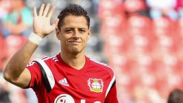 Javier Hernandez's career in pictures
