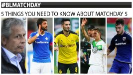 Five things you need to know about Matchday 5