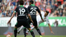 Augsburg off the mark after beating Hannover